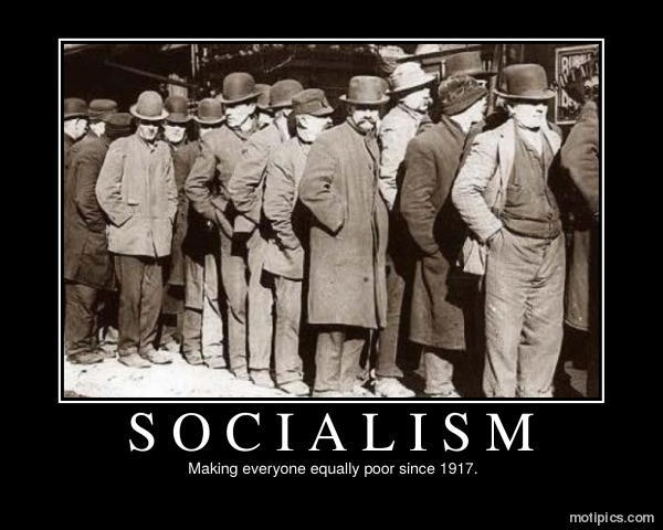 Socialism Motivational & Demotivational Photo