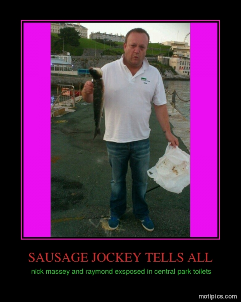 sausage jockey tells all Motivational & Demotivational Photo