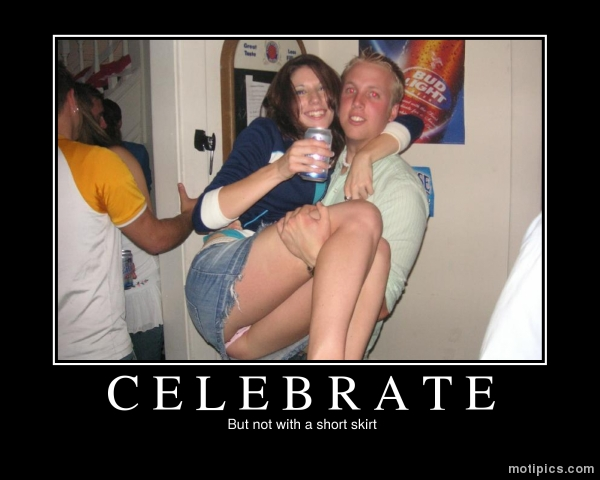 Celebrate Motivational & Demotivational Photo