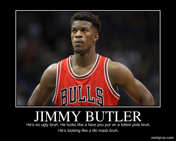 JIMMY BUTLER Motivational & Demotivational Photo